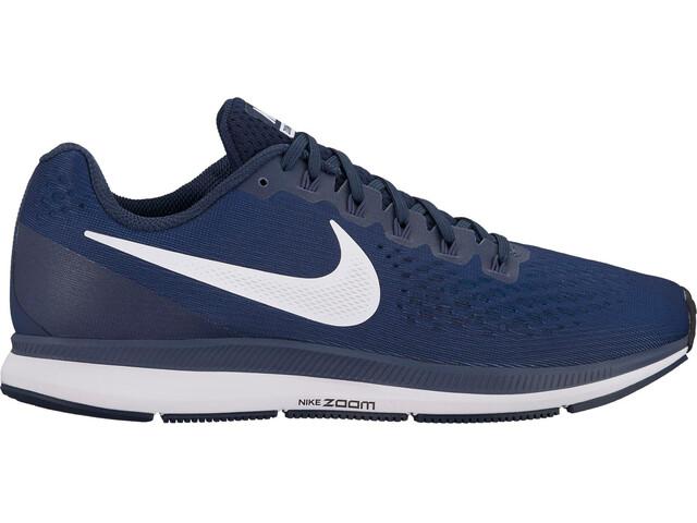 Nike Air Zoom Pegasus 34 Running Shoes Men obsidian/white-thunder blue-black